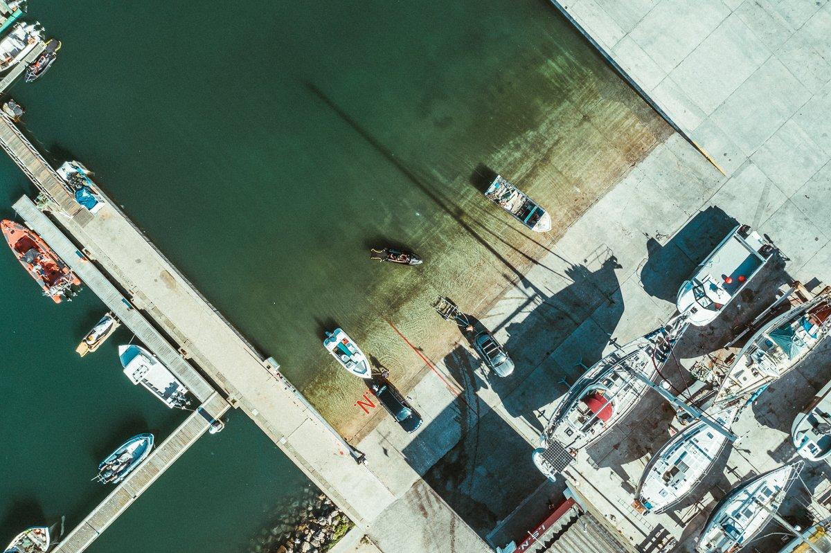 Nazaré Harbour - The lplace to start