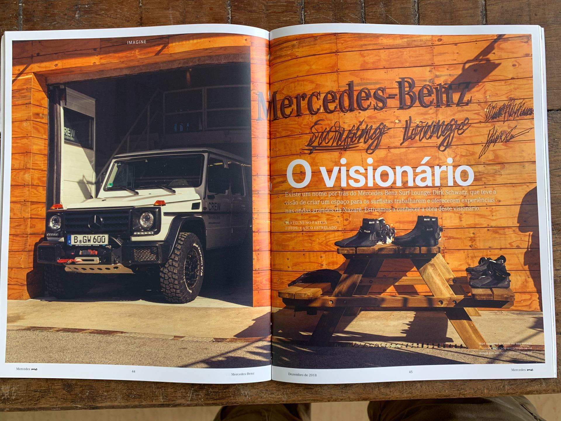 Ultimate Experience - Magazzine article about Nazaré - ME 2