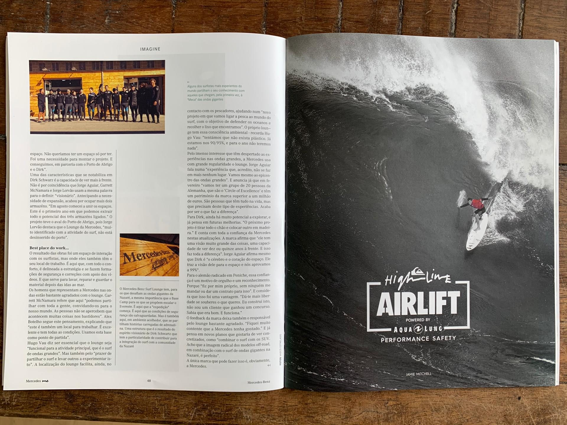 Ultimate Experience - Magazzine article about Nazaré - ME 4
